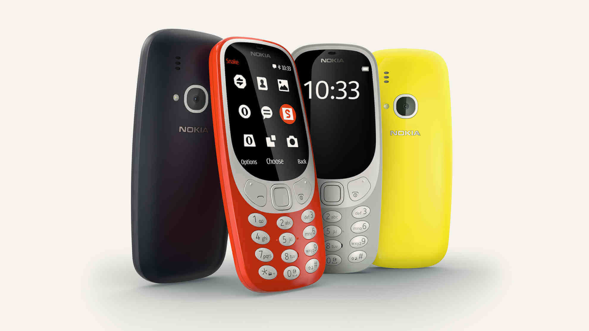 Nokia 3310 relaunched with better design and battery - MWC 17