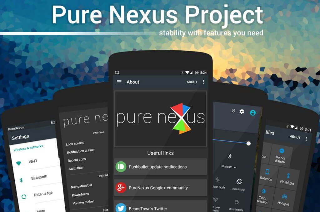 Pure Nexus Project ROM for Google Pixel and Pixel XL