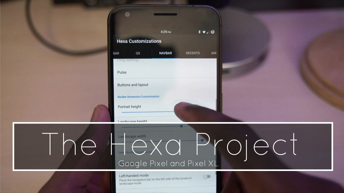 The Hexa Project ROM for Google Pixel and Pixel XL
