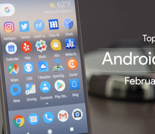 Top 10 best Android Apps of February 2017
