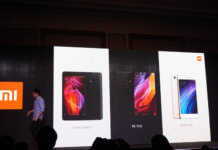 Xiaomi Dubai launch of Mi Mix, Redmi Note 4 and Redmi 4A