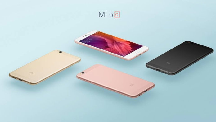 Xiaomi Mi5c Officialy launched
