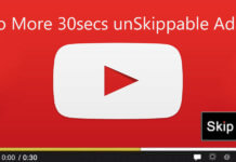 Youtube will stop 30 second unSkippable Ads in the videos but there's a catch!