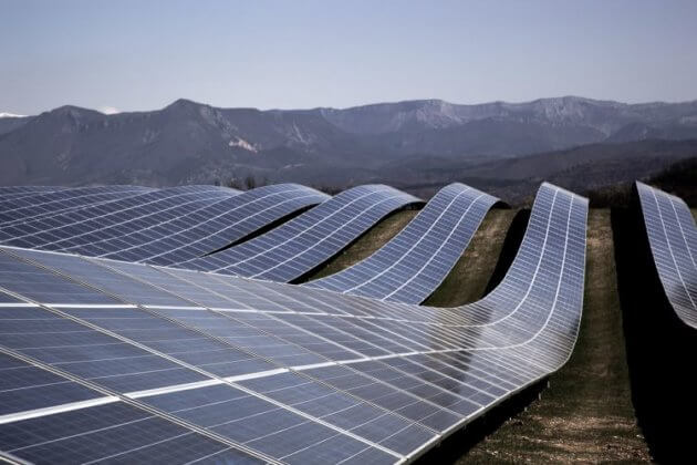 Solar Plant in Northern Chile.