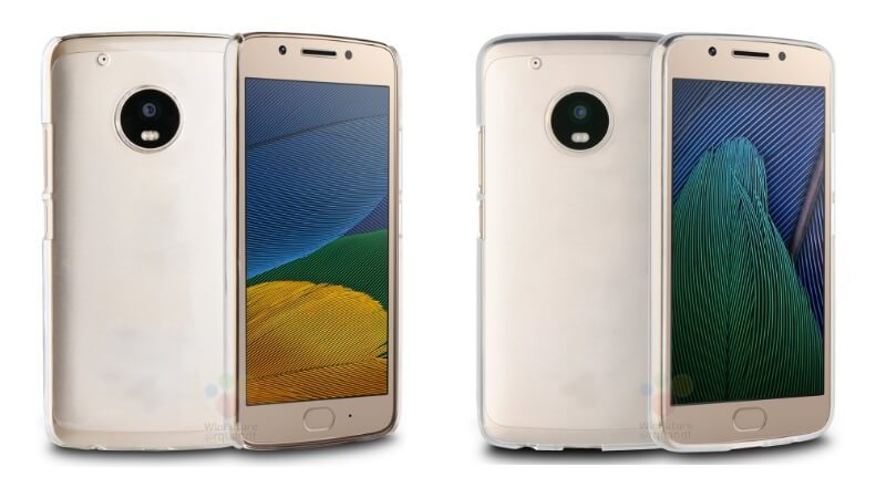 Motorola Moto G5 and G5 Plus render images