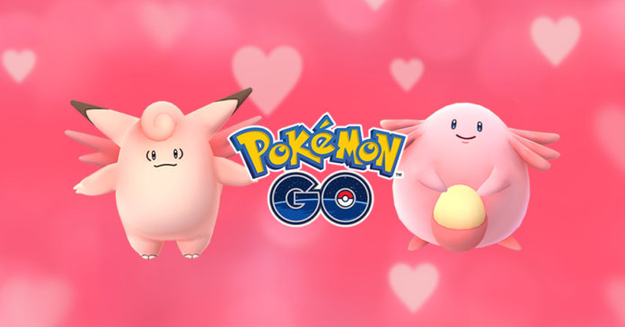 Pokemon GO Valentine's day event update