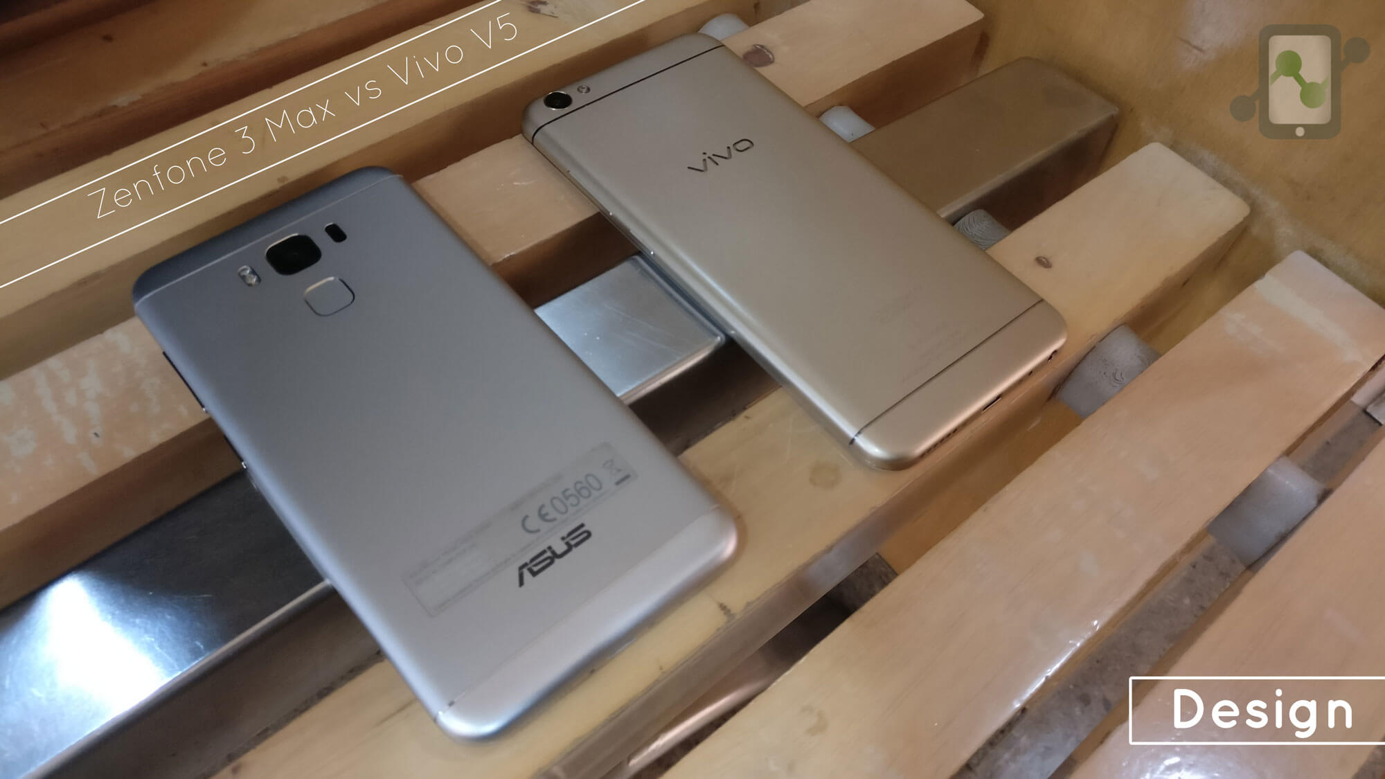 Asus Zenfone 3 Max vs Vivo V5 Design Review