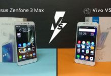 Asus Zenfone 3 Max vs Vivo V5 Review