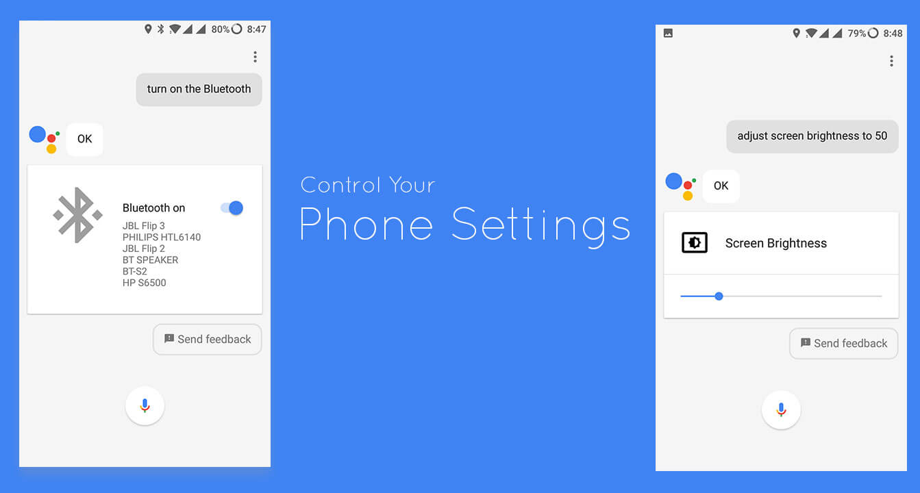 Control Phone Settings