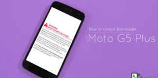How to unlock Bootloader on Moto G5 Plus