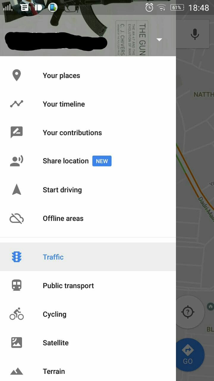 Google Maps Location Share