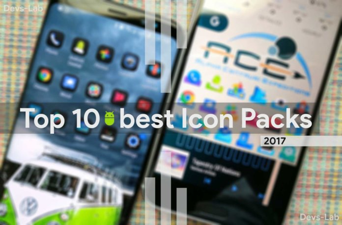 Top 10 best Android Icon Packs of 2017