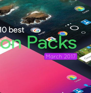 Top 10 best Icon Packs of March 2017