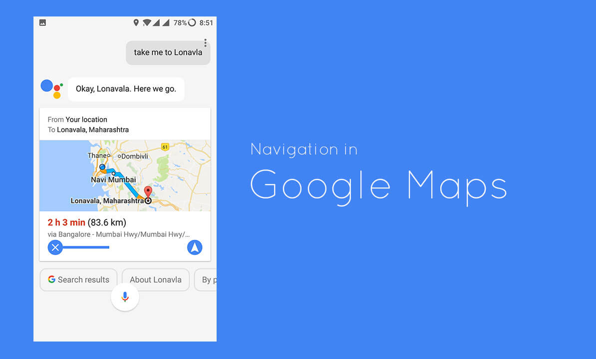 Use Google Assistant for Navigation in Google Maps