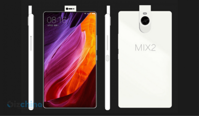 Xiaomi Mi Mix 2 Concept with 99% Screen to Body Ratio