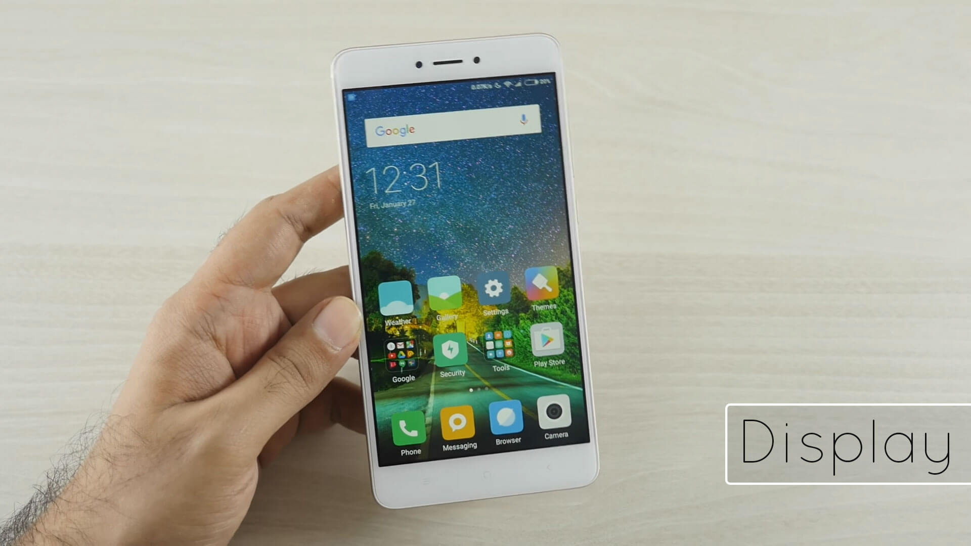 Xiaomi Redmi Note 4 Display Review