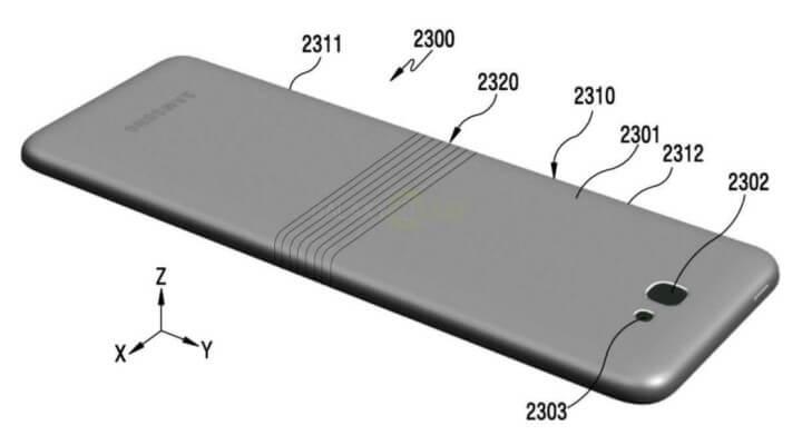 Samsung Galaxy X design