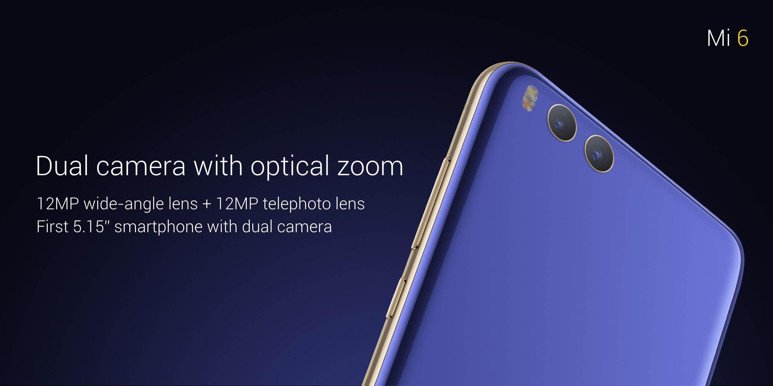 Xioami Mi 6_dual camera