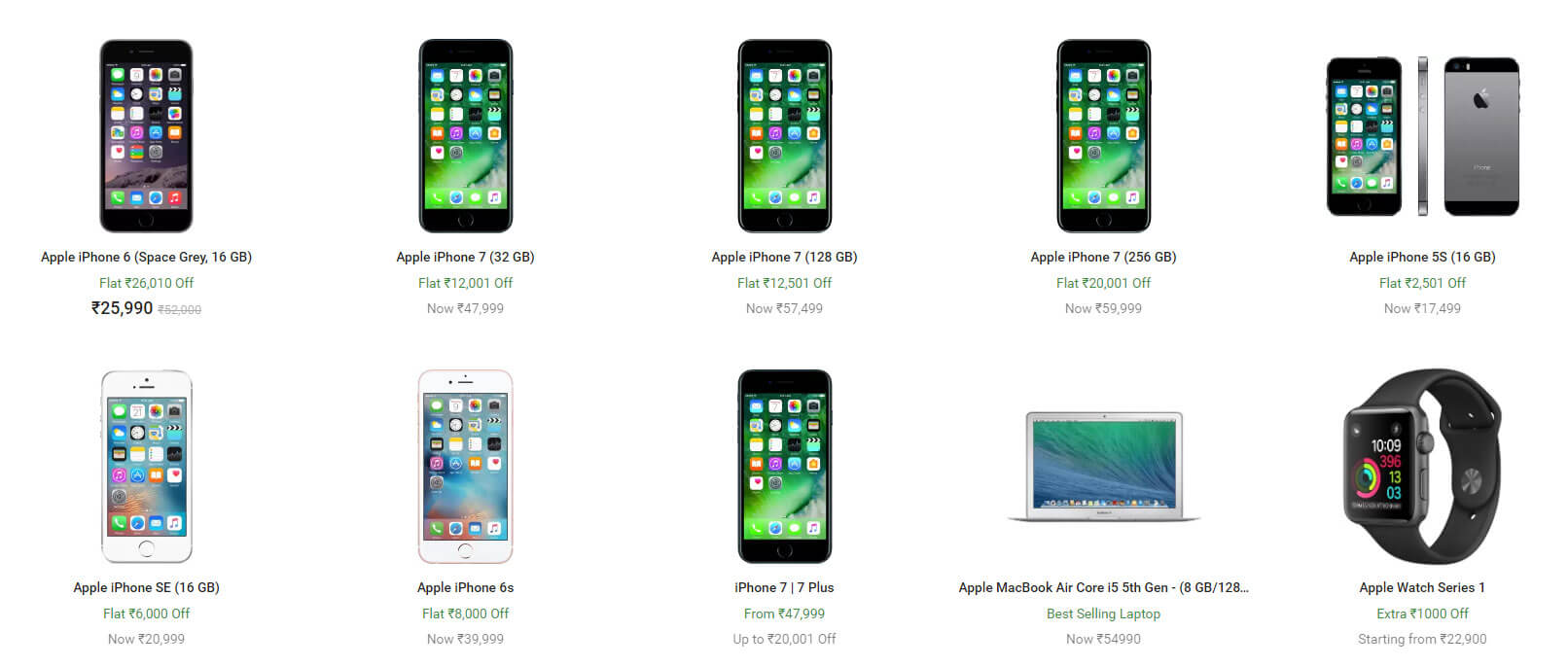 Flipkart Apple days Sale