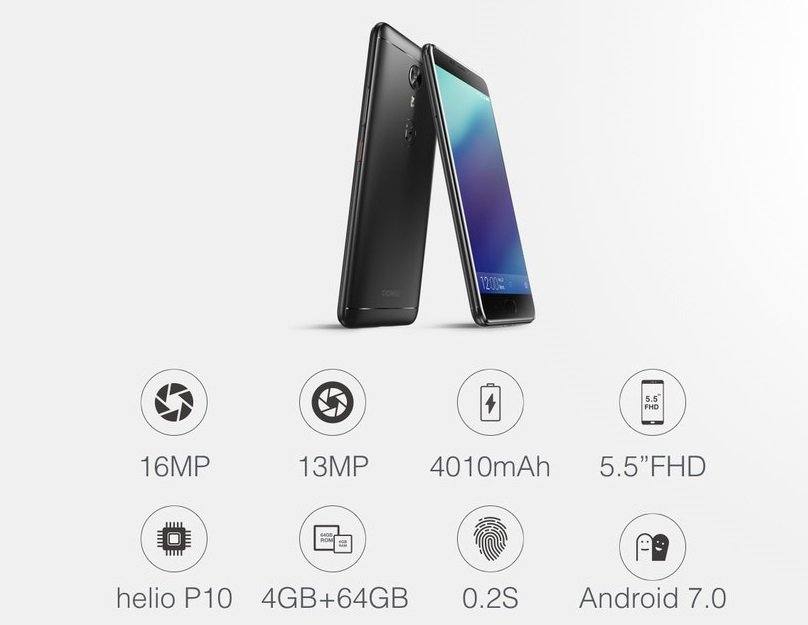 Gionee A1 specs