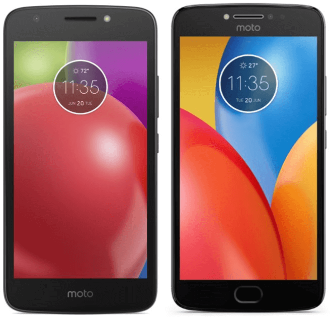 MOTO E4 E4 Plus_render leak