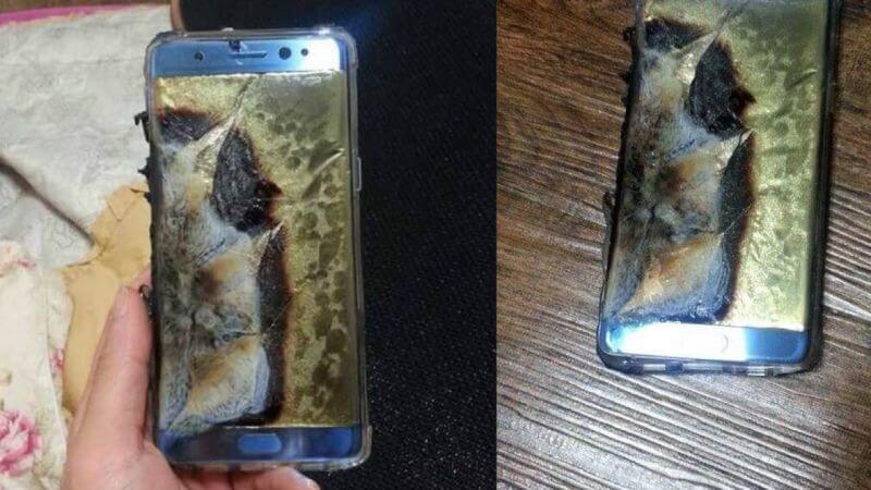 Burned Note 7.
