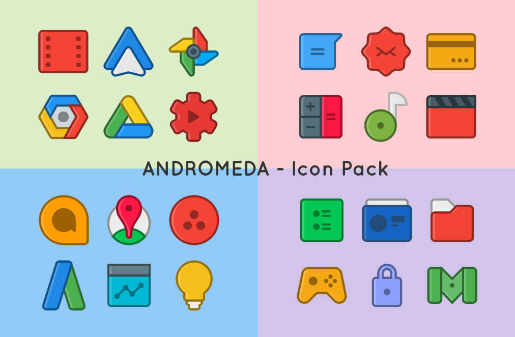Andromeda- Icon Pack