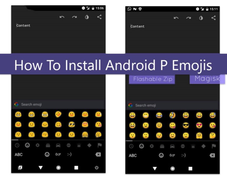 How to get new Android P and iOS 12.1 emojis on Android Lollipop and above (5.0+)