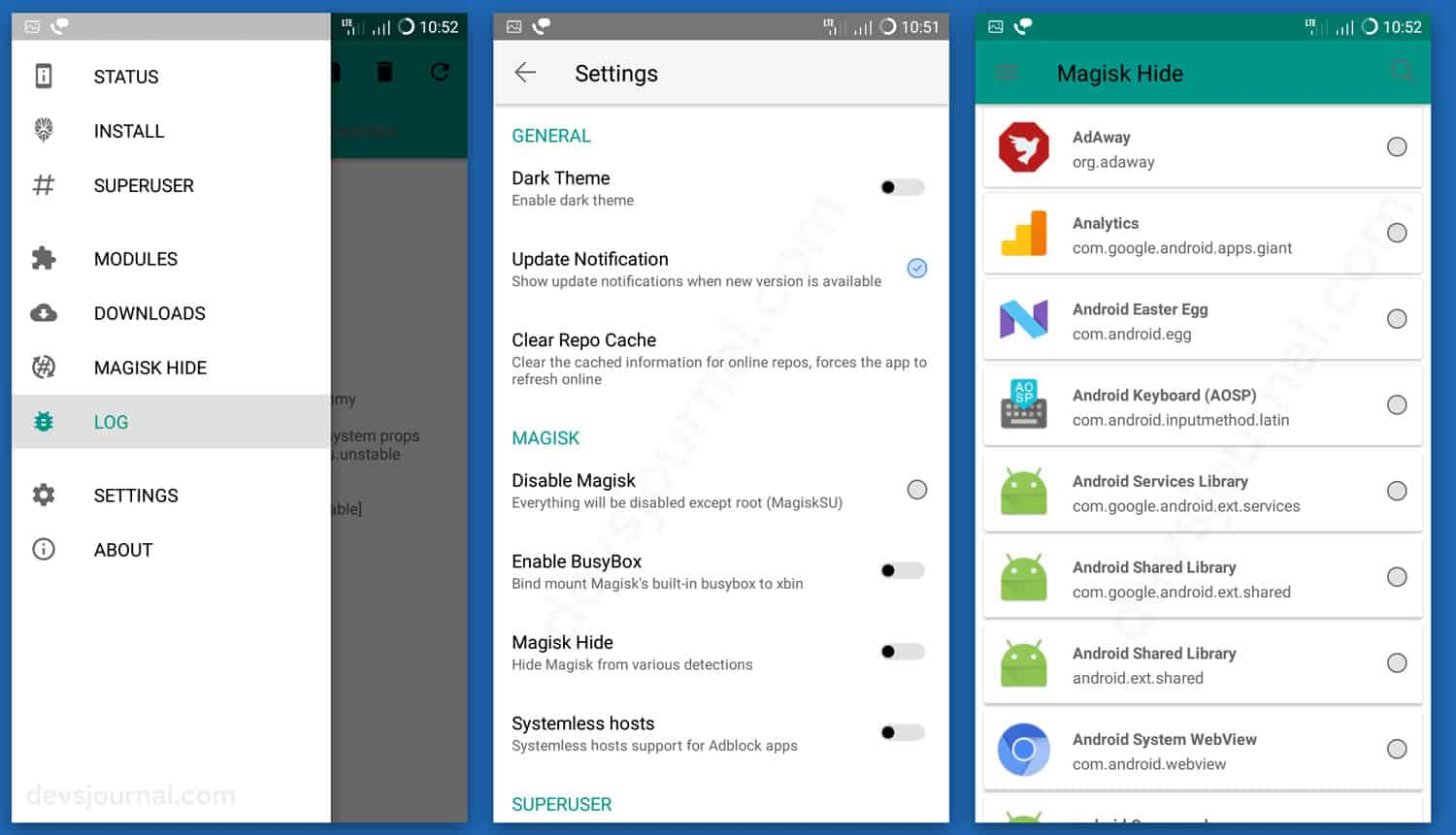 How to hide root from Android Apps using Magisk