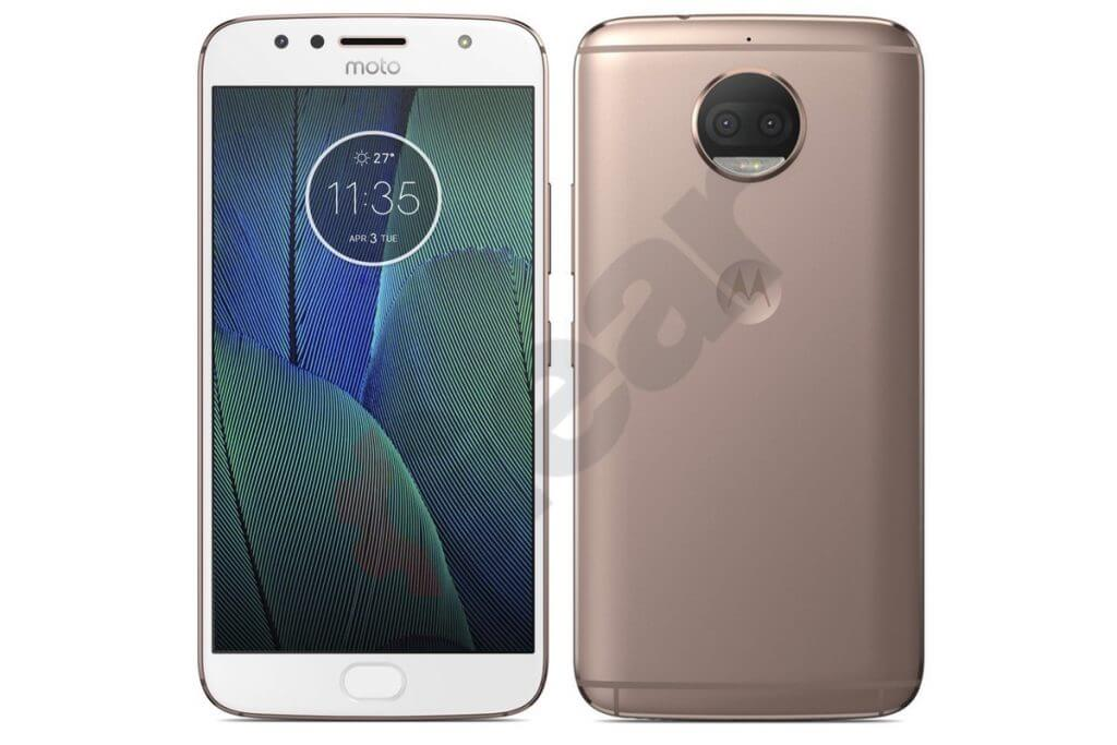 MOTO G5S+ leak White Gold