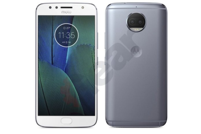 MOTO G5S Plus leak White Silver