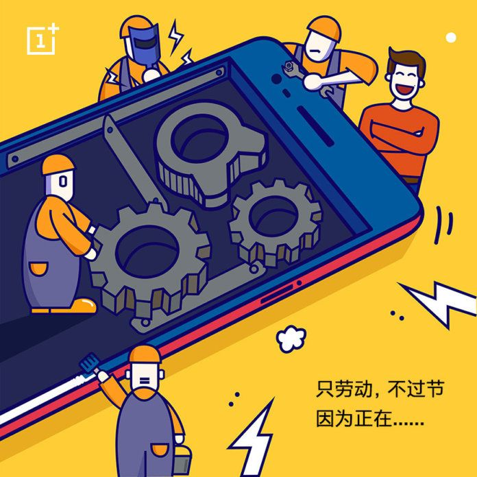 OnePlus 5 teased Image by CEO - devslab