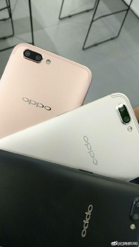 OPPO R11 back colour shot