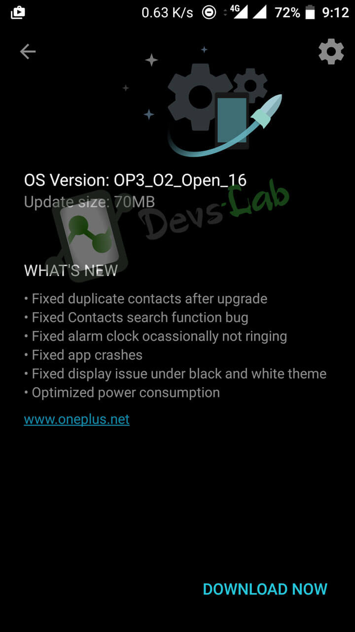 OxygenOS Open Beta 16 rolling out for the OnePlus 3