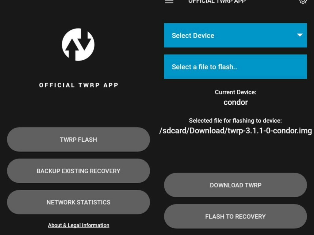 How to quickly update TWRP Recovery without PC  - DevsJournal