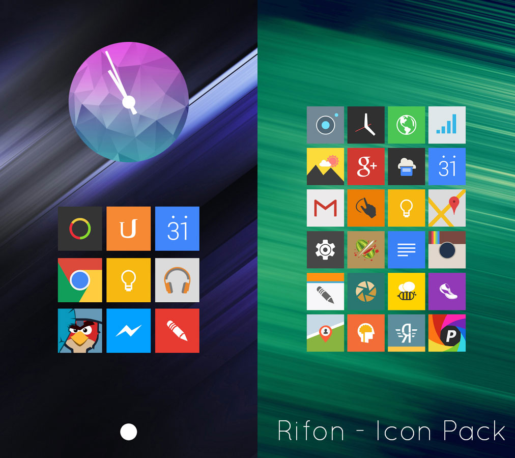 Rifon Icon pack