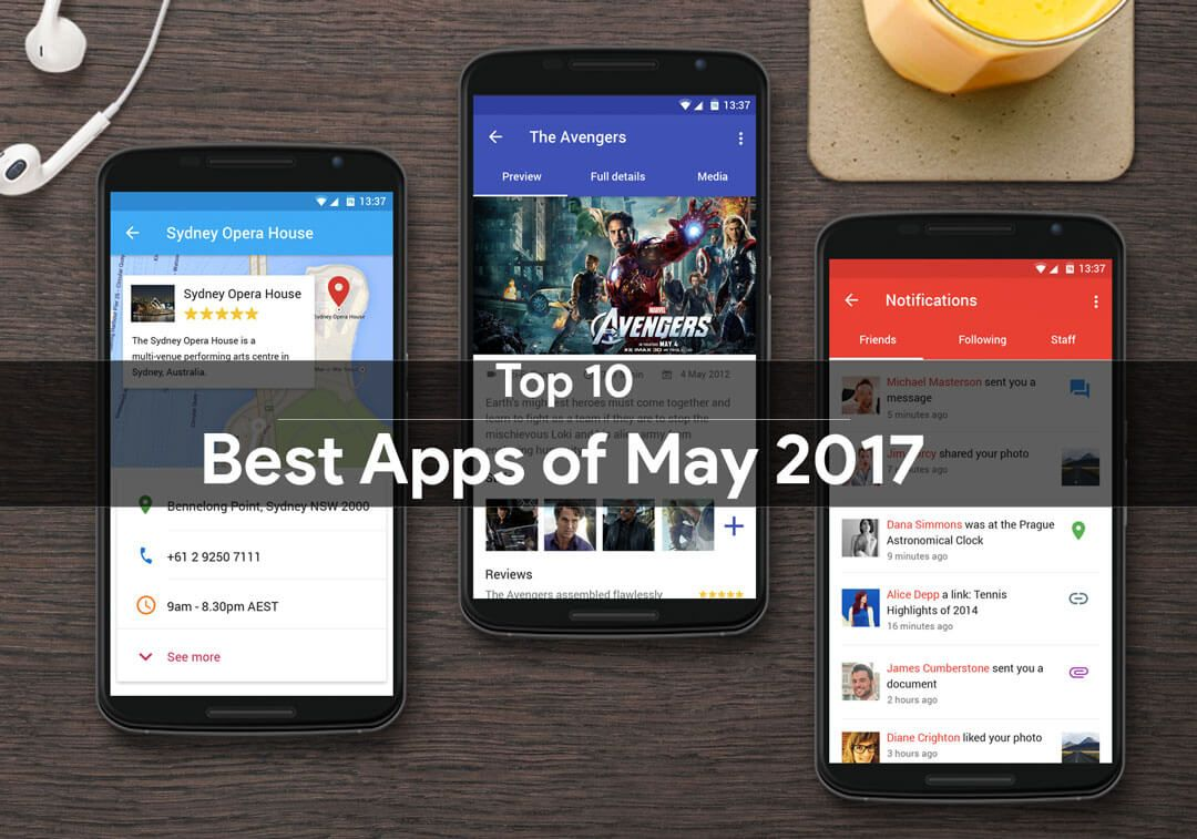 top 10 best android apps of may 2017 devsjournal. Black Bedroom Furniture Sets. Home Design Ideas