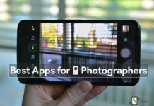 Top 5 best Android Apps for Mobile Photographers