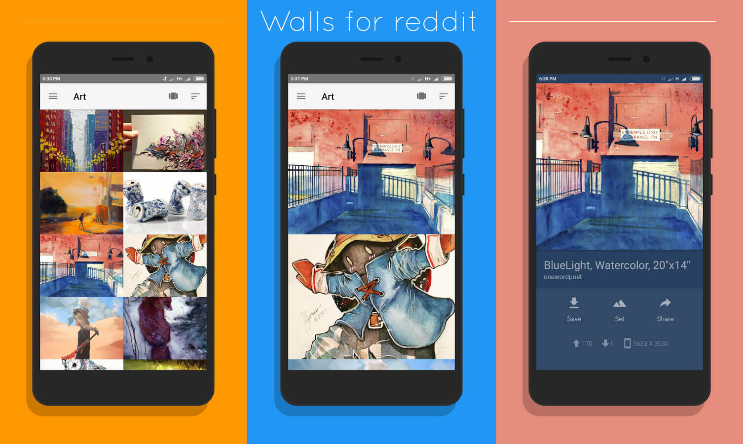 Walls for Reddit best Wallpaper App