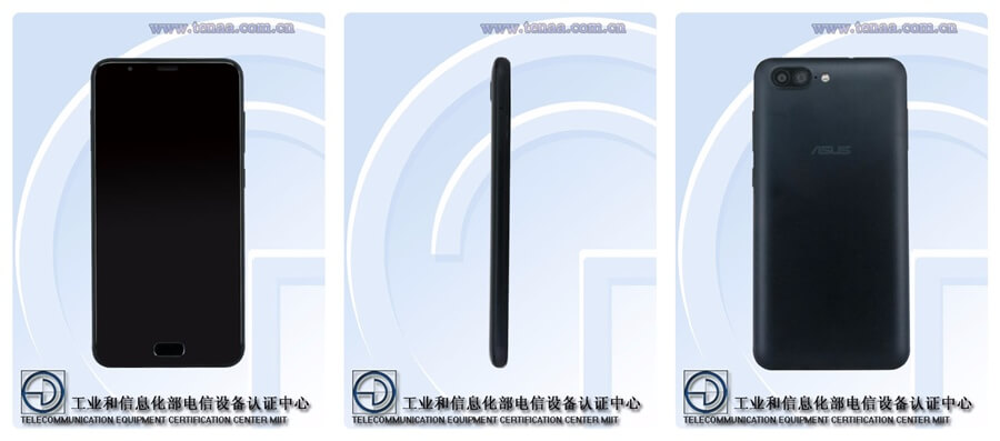 Asus Zenfone go 2 at TENAA