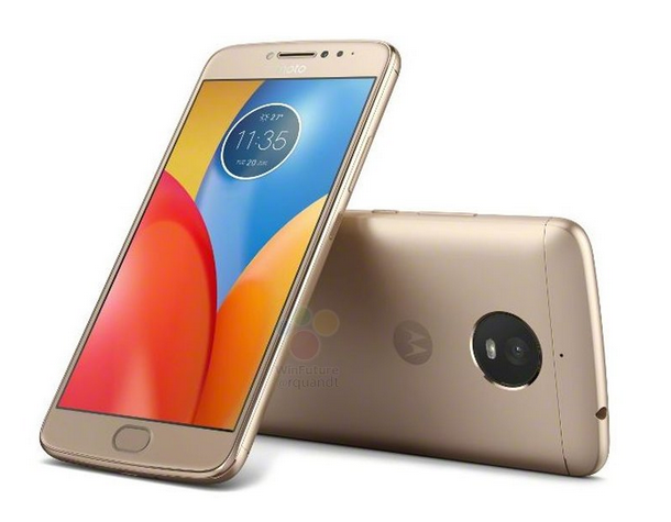 The MOTO E4 in_Gold