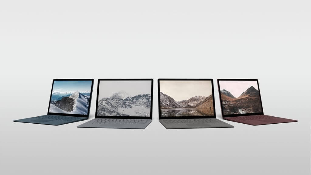 Microsoft Surface Laptop_Windows 10 S