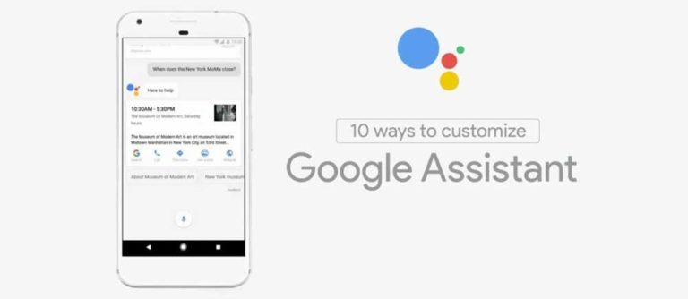 10 ways to customize the Google Assistant in your device.