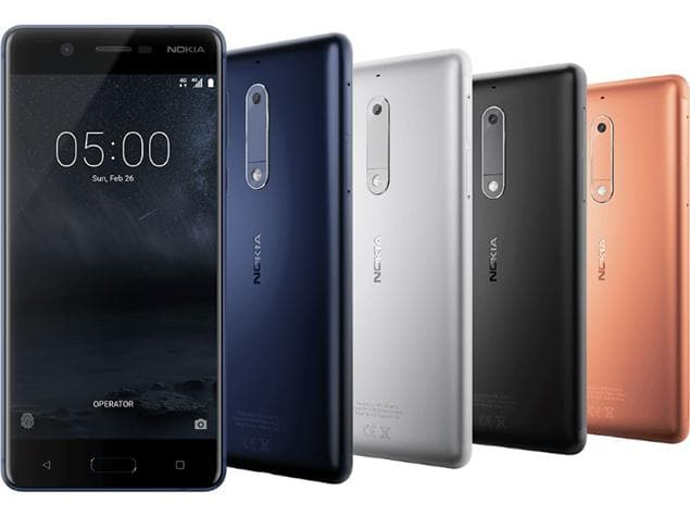 The NOKIA 5 by HMD Global