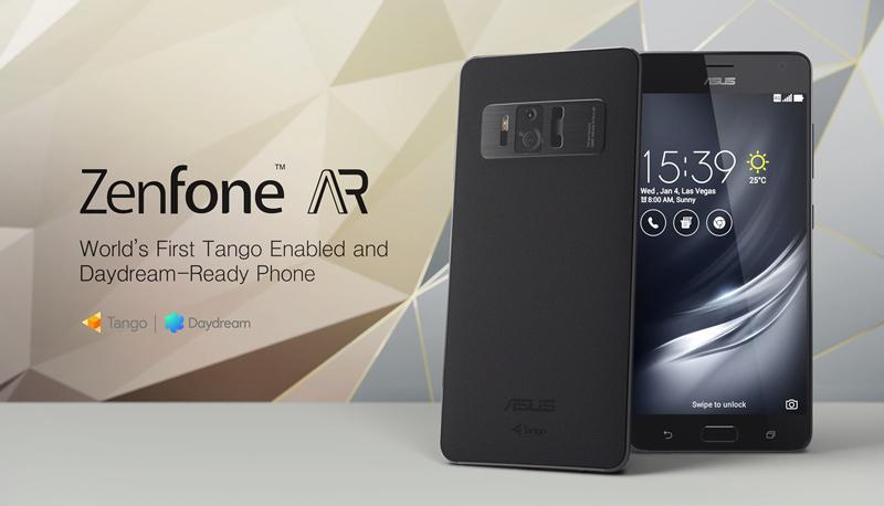 ASUS ZenFone AR launched in India; 8GB RAM, Snapdragon 821 SoC, Project Tango