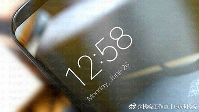 Xiaomi Mi Mix 2 render_2 leak