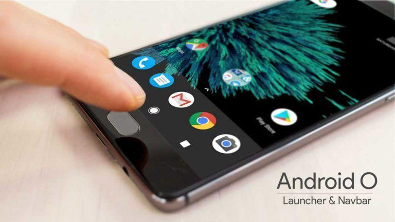 How to get Android O Navigation bar and Launcher on your Android Device.