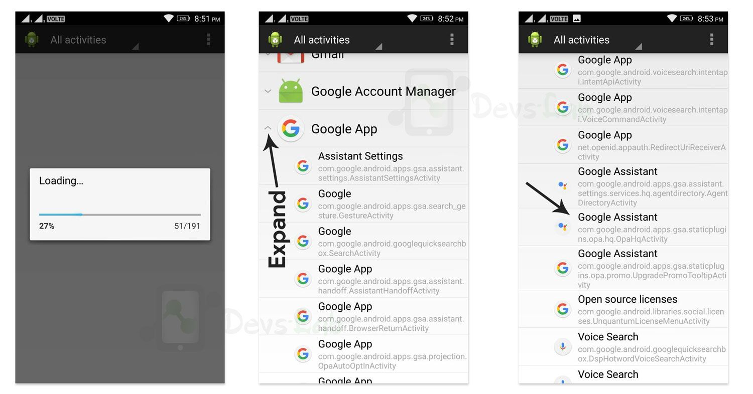 Enable Google Assistant on Android Lollipop and above devices