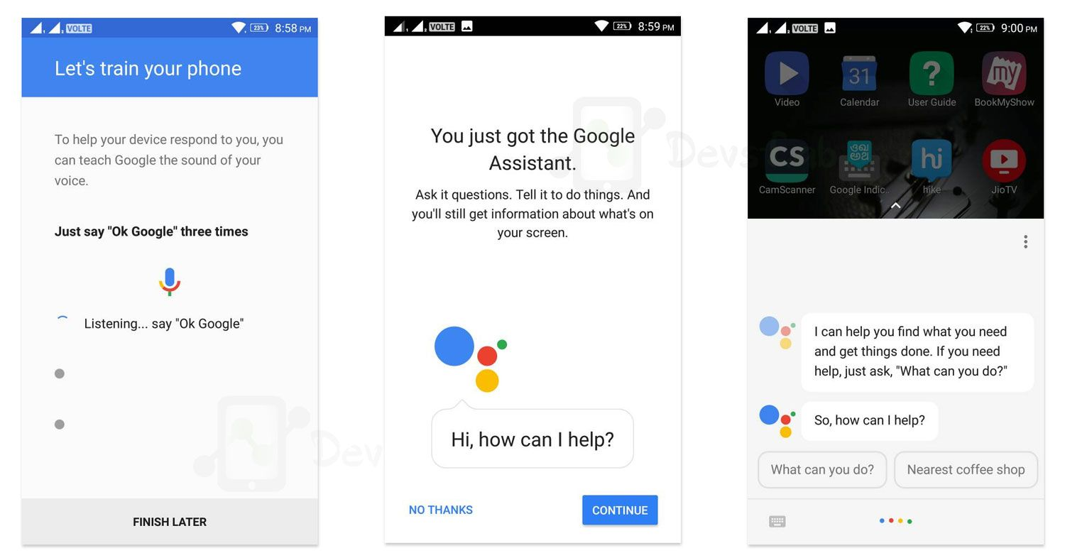 Google Assistant Enabled on Android Lollipop without Rooting