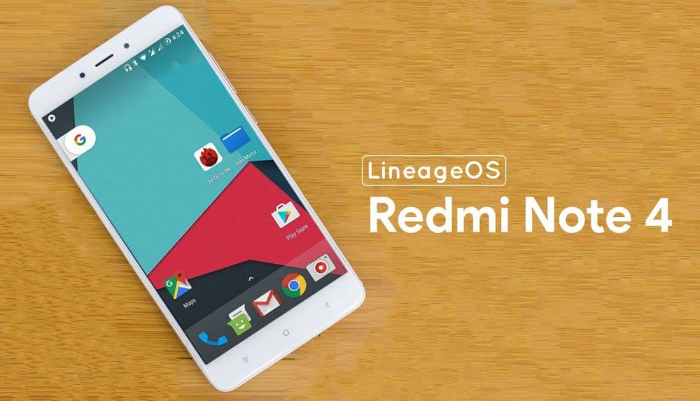 Lineage OS for Xiaomi Redmi Note 4